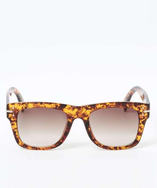 Image_Óculos de Sol Feminino Estampa Animal Print Quadrado Marisa