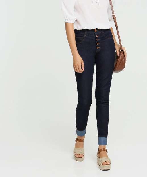Image_Calça Jeans Skinny Feminina Barra Dobrada Biotipo