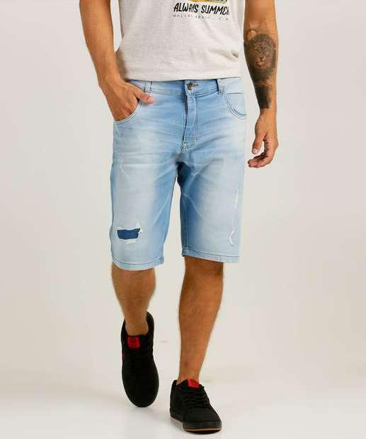 Image_Bermuda Masculina Destroyed Zune Jeans