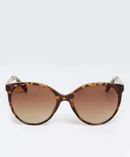 Óculos de Sol Feminino Animal Print Redondo Marisa