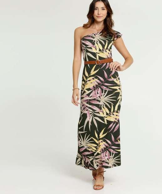 Image_Vestido Feminino Longo Ombro Só Estampa Tropical