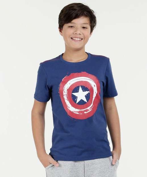Image_Camiseta Juvenil Capitão América Marvel
