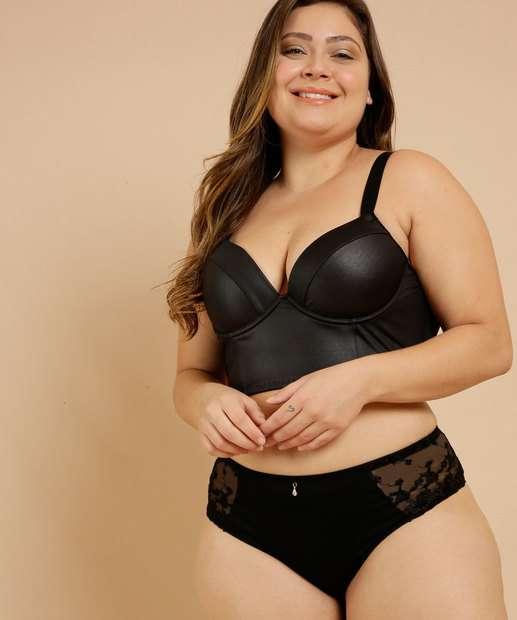 Image_Sutiã Plus Size Feminino Top Corpete Cirrê Marisa