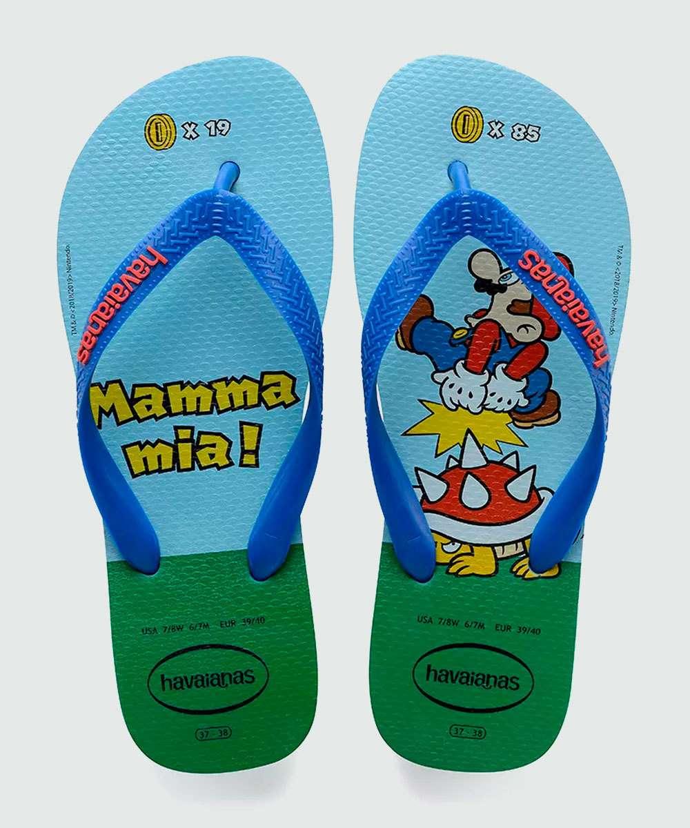 Chinelo Havaianas Masculino Mario Bros 0031