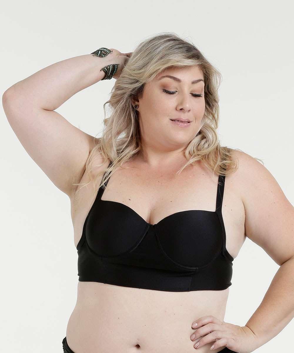Biquíni Feminino Plus Size Parte Cima Alças Finas Marisa