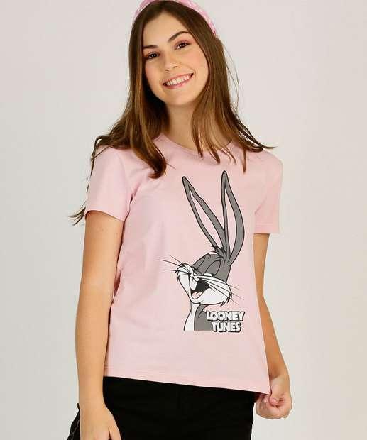 Image_Blusa Juvenil Looney Tunes Warner Bros Tam 10 a 16