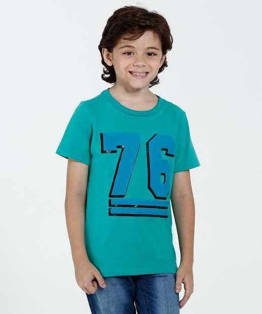 Image_Camiseta Infantil Manga Curta Estampa Frontal Marisa