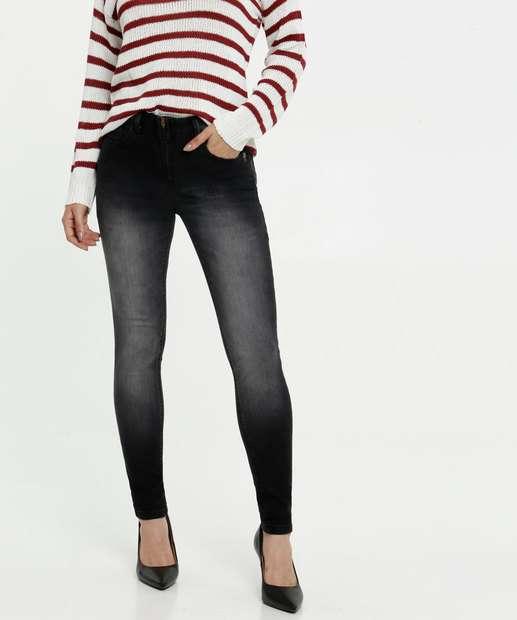 Image_Calça Skinny Feminina Bolsos Uber Jeans