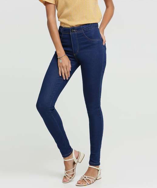 Image_Calça Jeans Skinny Feminina Trançado Biotipo