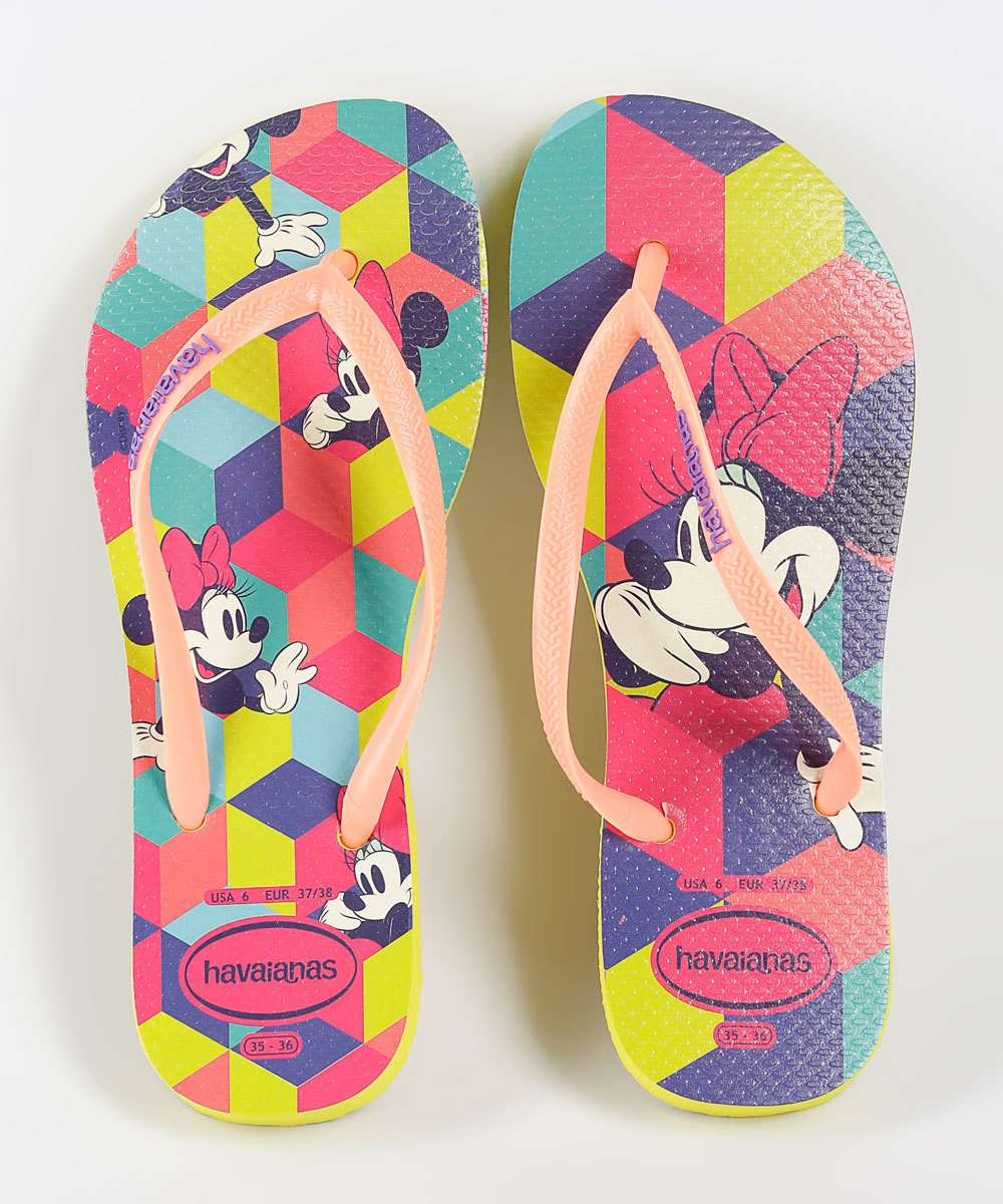 Chinelo Infantil Minnie Kids Disney Havaianas