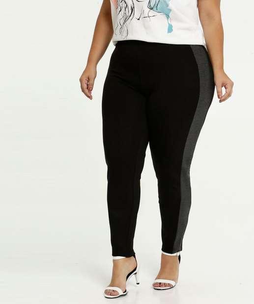 Image_Calça Feminina Legging Recorte Plus Size Marisa