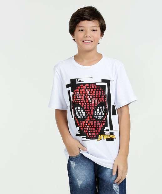 Image_Camiseta Juvenil Homem Aranha Manga Curta Marvel