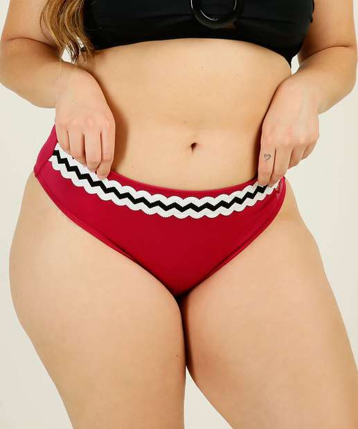 Image_Biquíni Plus Size Feminino Avulso Listras Banho de Mar