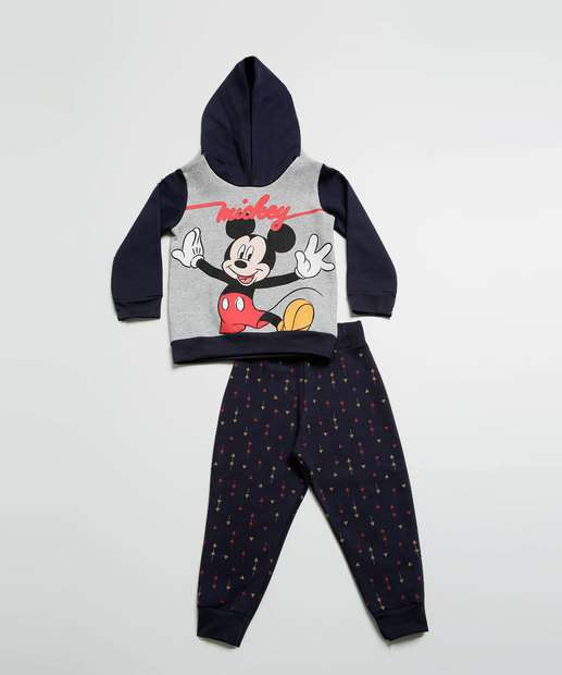 Image_Conjunto Infantil Moletom Estampa Mickey Disney