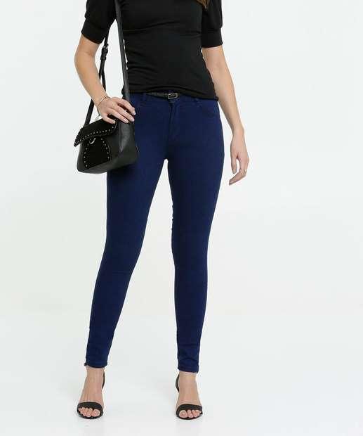 Image_Calça Jeans Feminina Skinny Cinto Biotipo