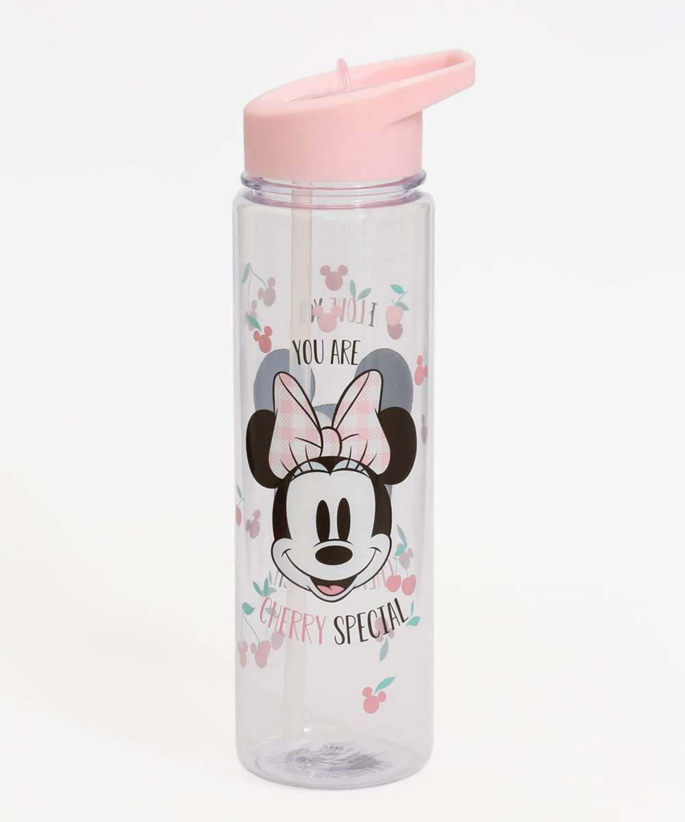 Garrafa Squeeze Feminina Mickey Minnie 670ml Disney