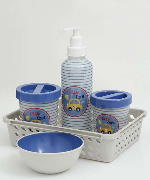 Image_Kit Higiene Infantil 5 Peças Listrado