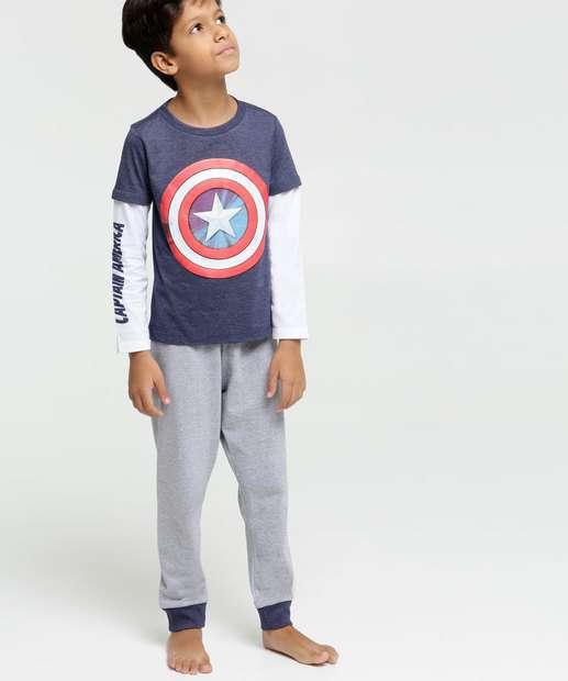 Image_Pijama Infantil Capitão América Marvel