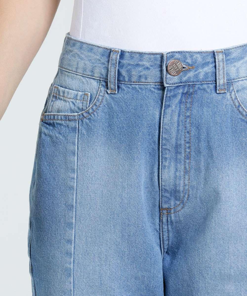a0a2568ed Calça Feminina Mom Jeans Cintura Alta Marisa