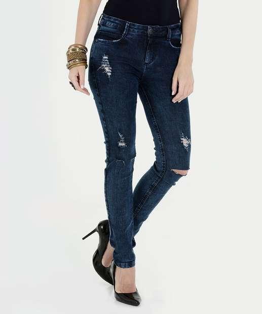 Image_Calça Feminina Jeans Destroyed Skinny Marisa