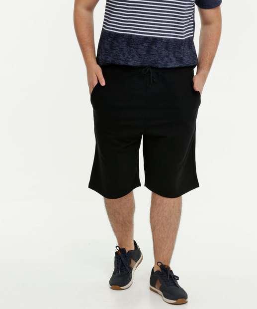 Image_Bermuda Masculina Moletinho Bolsos Plus Size