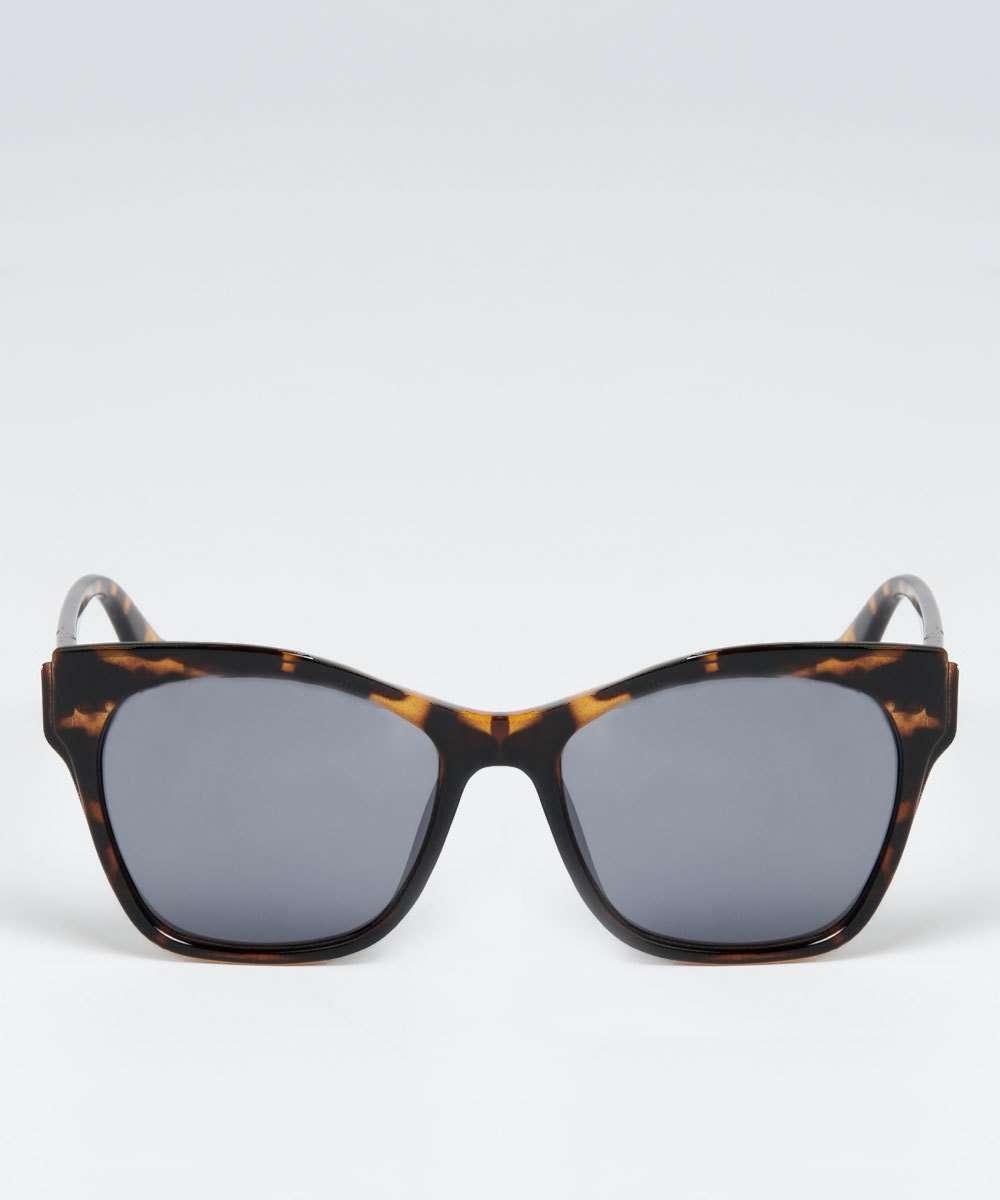 7bc37092d Óculos de Sol Feminino Quadrado Estampado Marisa   Marisa