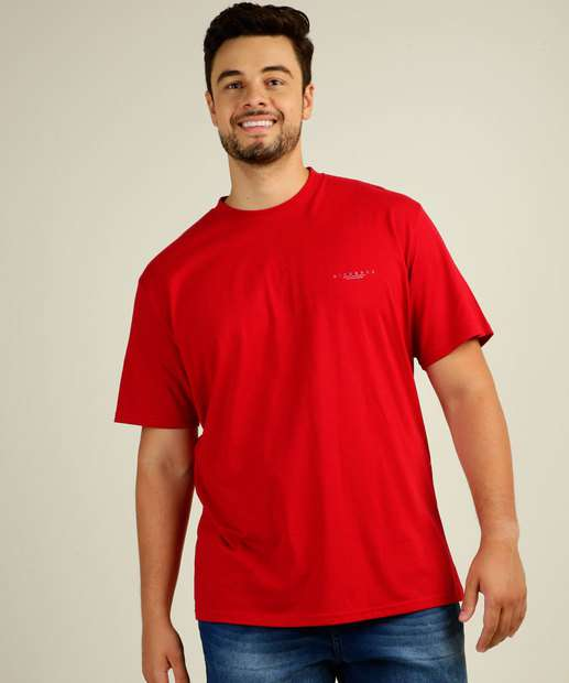 Image_Camiseta Masculina Estampa Plus Size Manga Curta MR