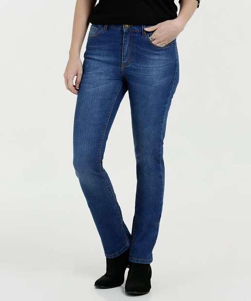 Image_Calça Feminina Jeans Boot Cut Marisa