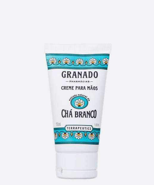 Image_Creme Para Mãos Terrapeutics Chá Branco Granado 50ml