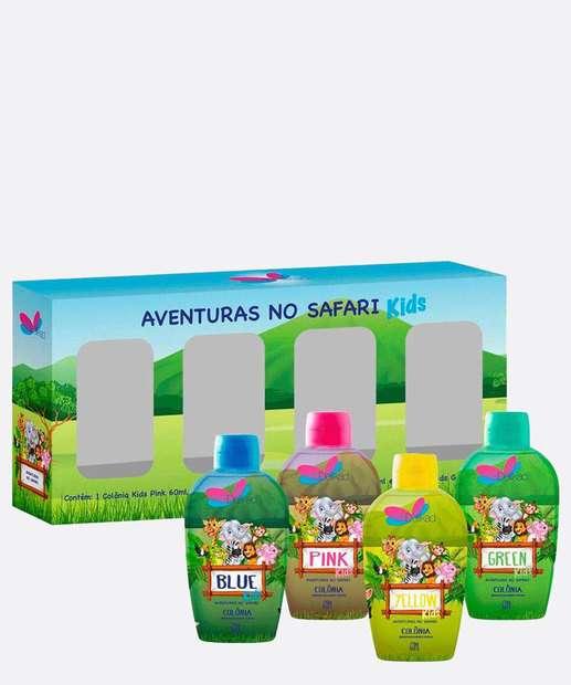 Image_Kit Colônia Infantil Safari Kids Delikad 60ml