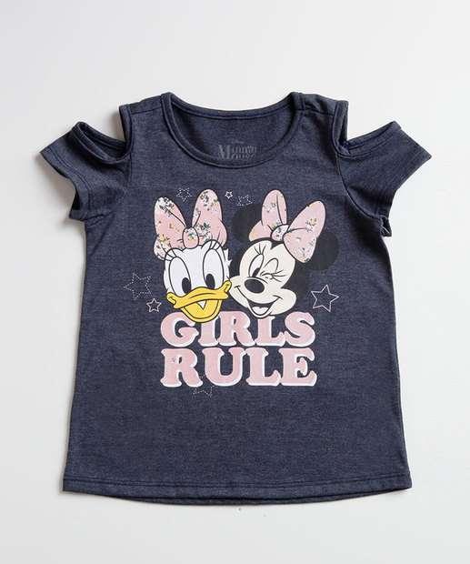 Image_Blusa Infantil Open Shoulder Estampa Minnie e Margarida Disney