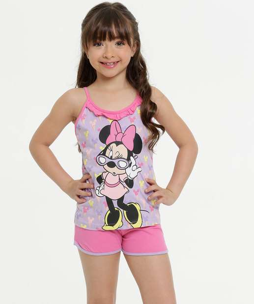 Image_Pijama Infantil Estampa Minnie Disney