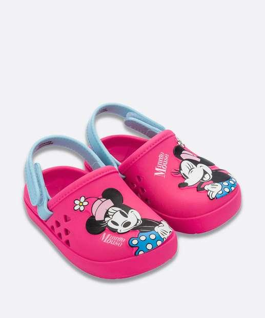 Image_Sandália Infantil Babuche Minnie Disney