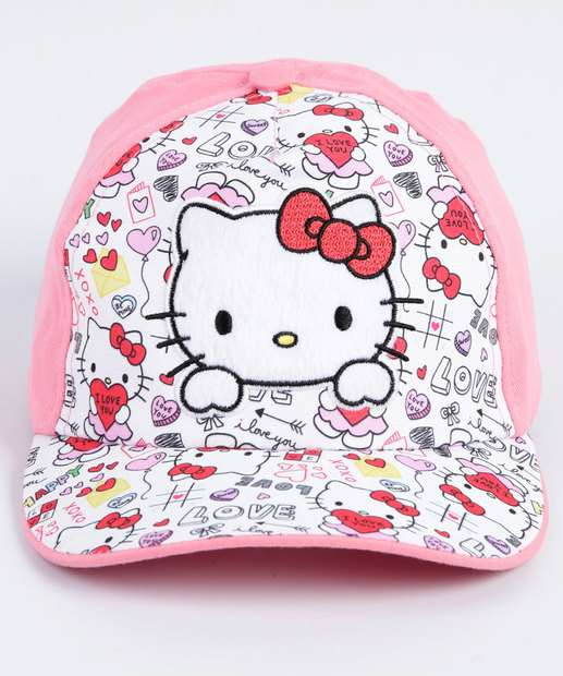 Image_Boné Infantil Bordado Hello Kitty