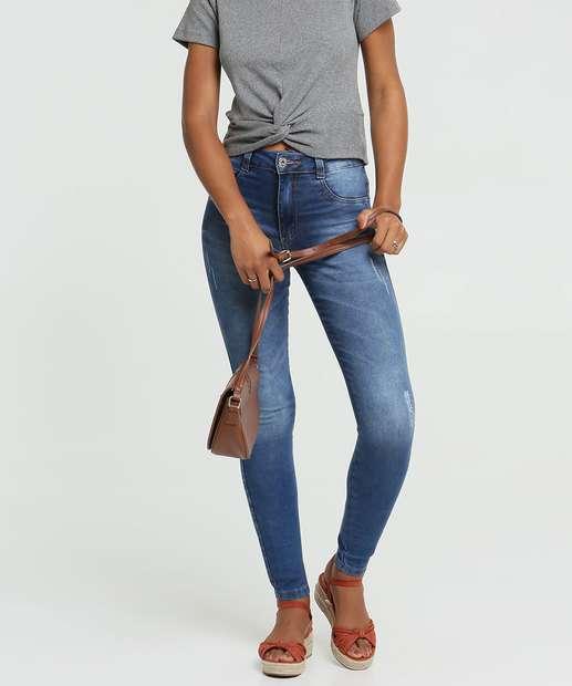 Image_Calça Jeans Puídos Skinny Feminina Biotipo
