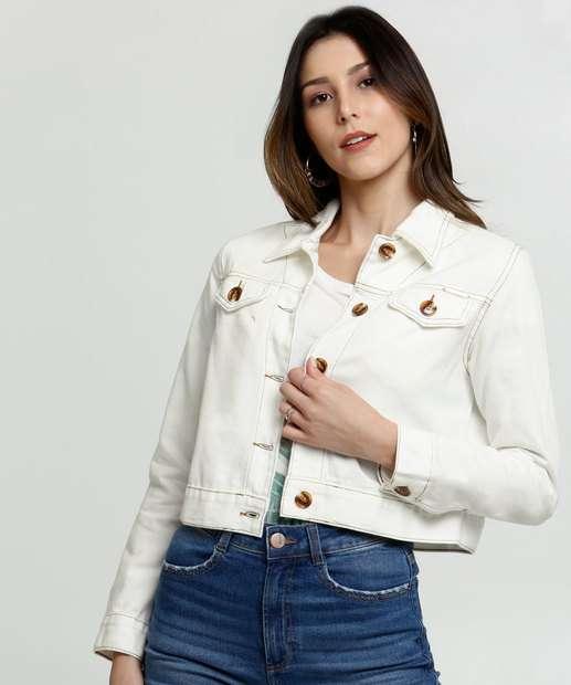 Image_Jaqueta Feminina Cropped Sarja Zune Jeans By Sabrina Sato