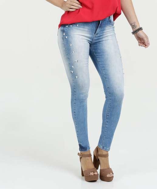 Image_Calça Feminina Jeans Skinny Push Up Sawary