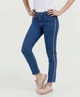Calça Jeans Feminina Cigarrete Faixa Marisa