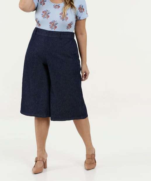 Image_Calça Feminina Jeans Pantacourt Plus Size Marisa