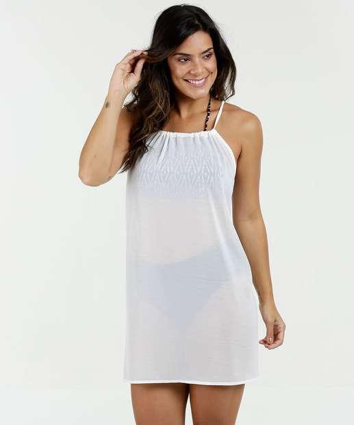 Vestido Feminino Chiffon Saída de Praia Marisa 37b87ebd862