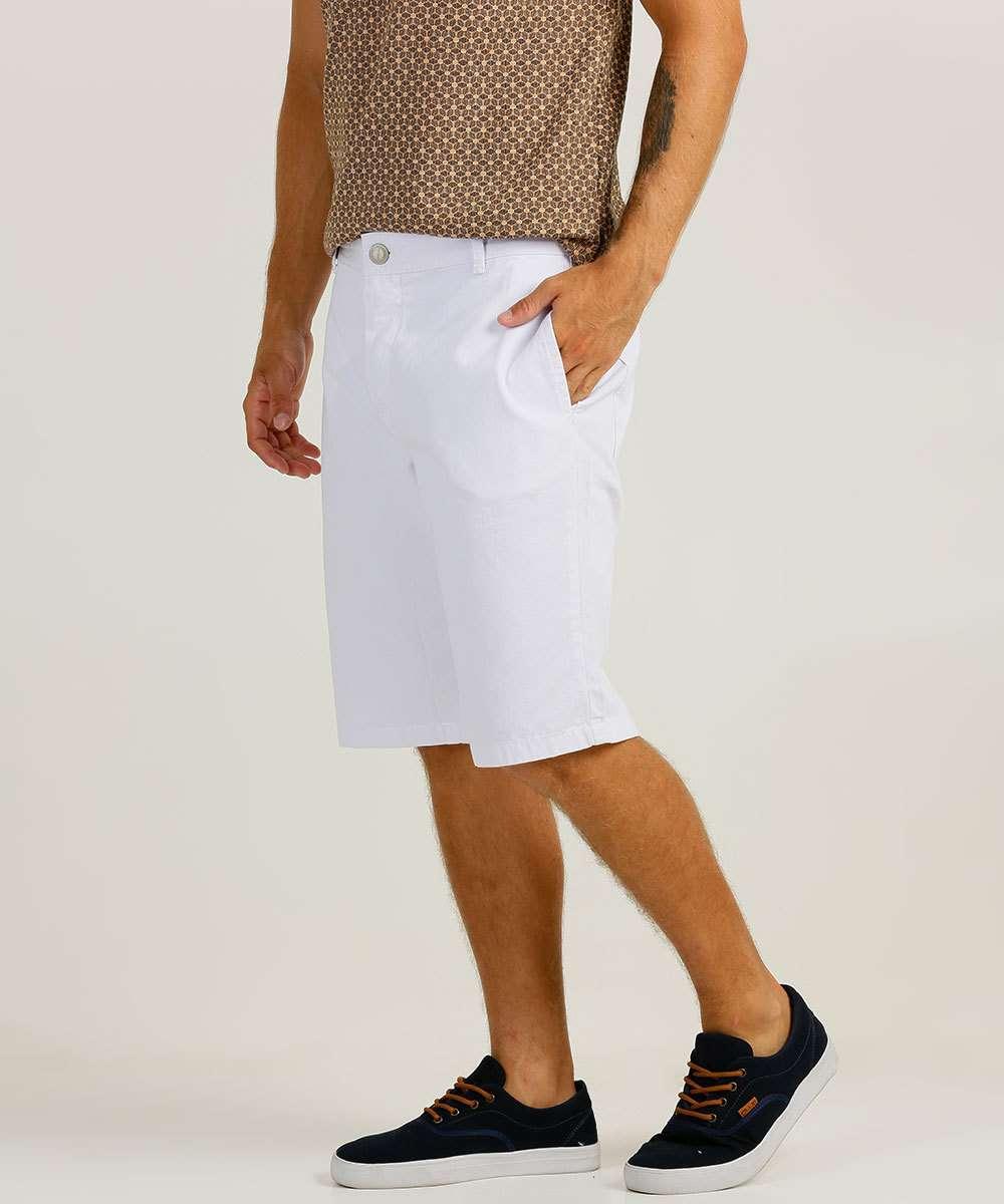 Bermuda Masculina Sarja Bolsos