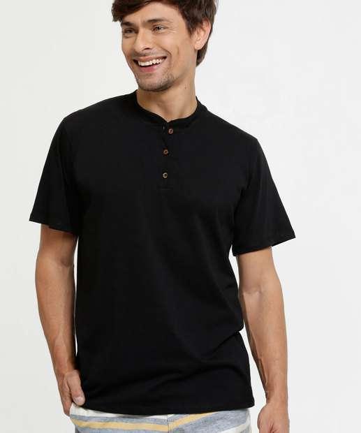 Image_Camiseta Masculina Gola Padre Manga Curta