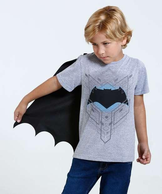 Image_Camiseta Infantil Capa Batman Liga da Justiça