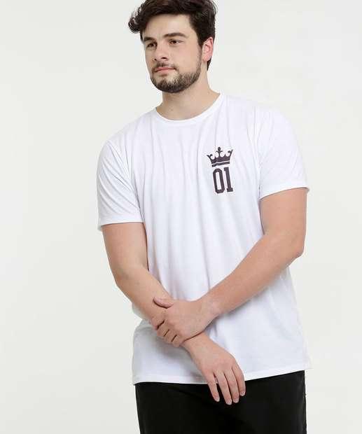 Image_Camiseta Masculina Estampada Plus Size