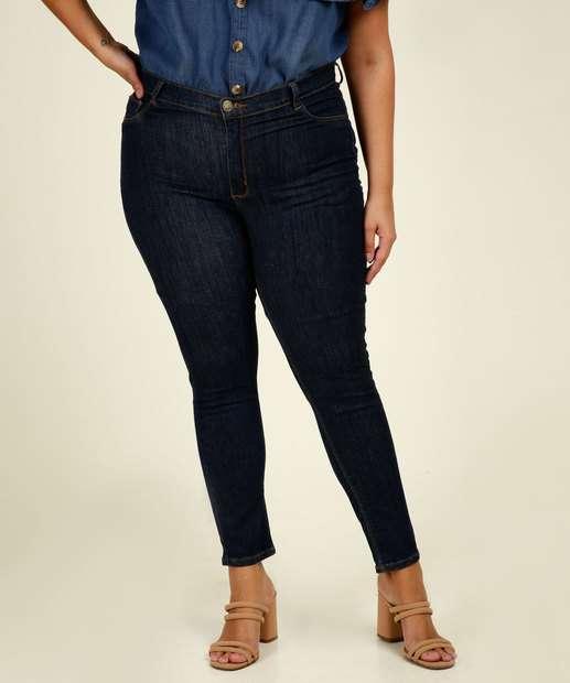 Image_Calça Plus Size Feminina Jeans Skinny Razon