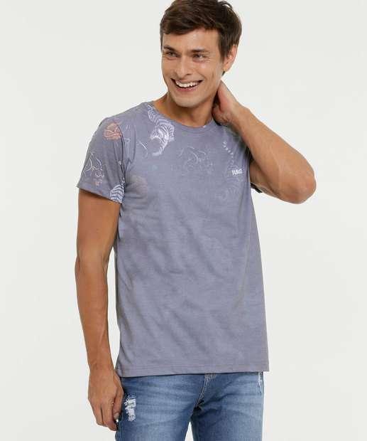 Image_Camiseta Masculina Estampa Tigre Rock & Soda