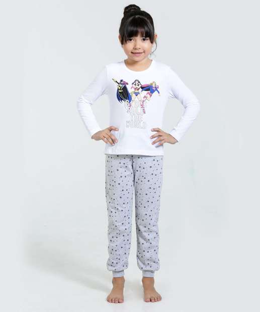 Image_Pijama Infantil Mulher Maravilha Frase Disney