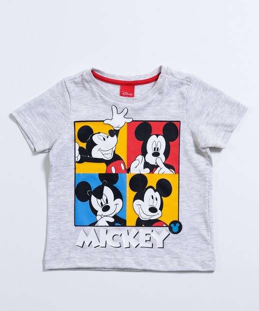 Image_Camiseta Infantil Manga Curta Mickey Disney