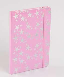 Caderneta Anotações Estampa Estrelas Marisa