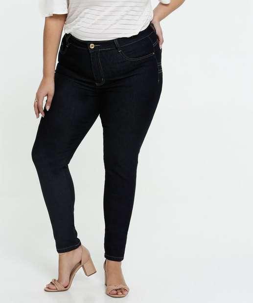 Image_Calça Jeans Cigarrete Feminina Plus Size Sawary